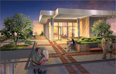 Bohemian embassy artists rendering.